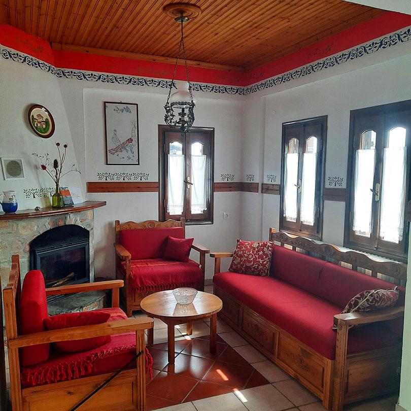 byron houses milea tsagkarada volos pelion rooms hotel mansion